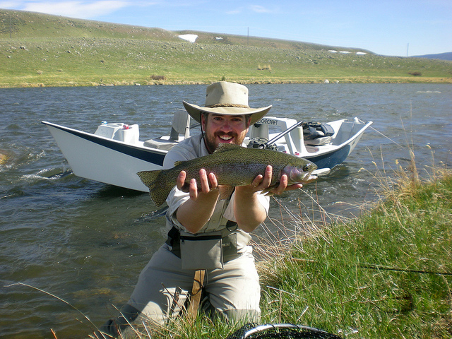 Fly fishing grey cliffs ranch for Private trout fishing in missouri